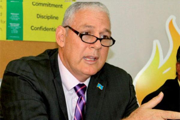 Prime Minister Allen Chastanet. [PHOTO: Stan Bishop]