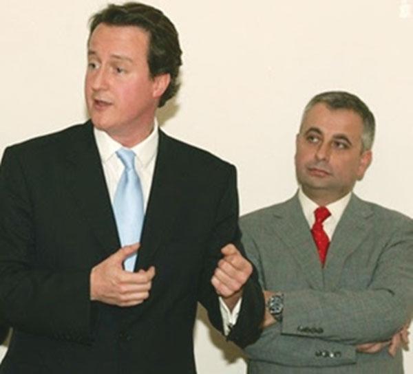 img: UK Prime Minister David Cameron & John Kennedy