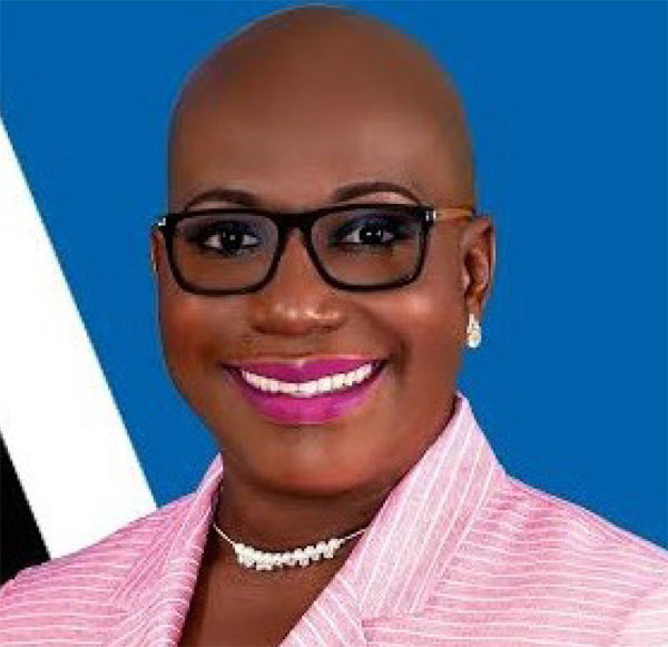 Image: Minister for Education, Innovation, Gender Relations and Sustainable Development, Dr. Gale Rigobert