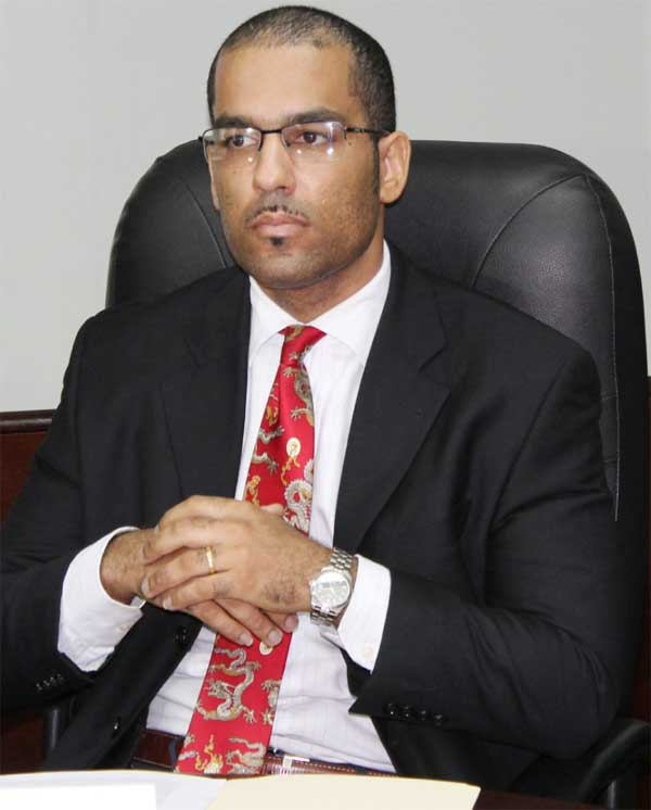 Image: Seryozha Cenac, Legal Counsel for Invest St. Lucia