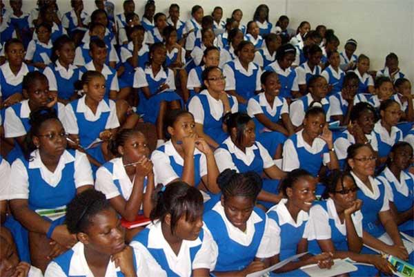 Image: St. Joseph's Convent Students.