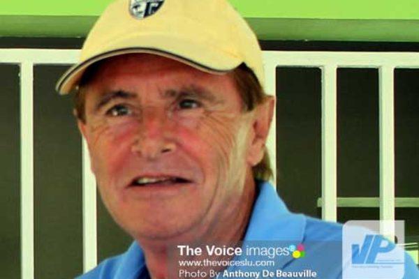 Image: St. Lucia Lifesaving Association President John Bruce (Photo Anthony De Beauville)