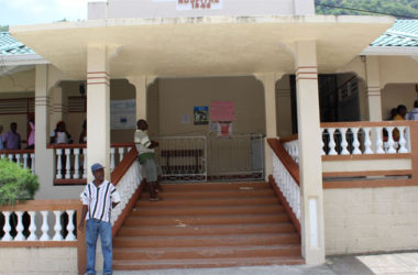Image: The 70 year old Soufriere hospital.