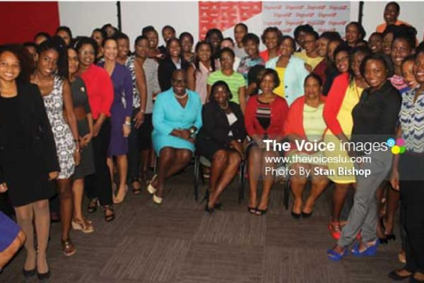 Image: Women need to be more confident that they can achieve their goals, Digicel says. [PHOTO: Stan Bishop]