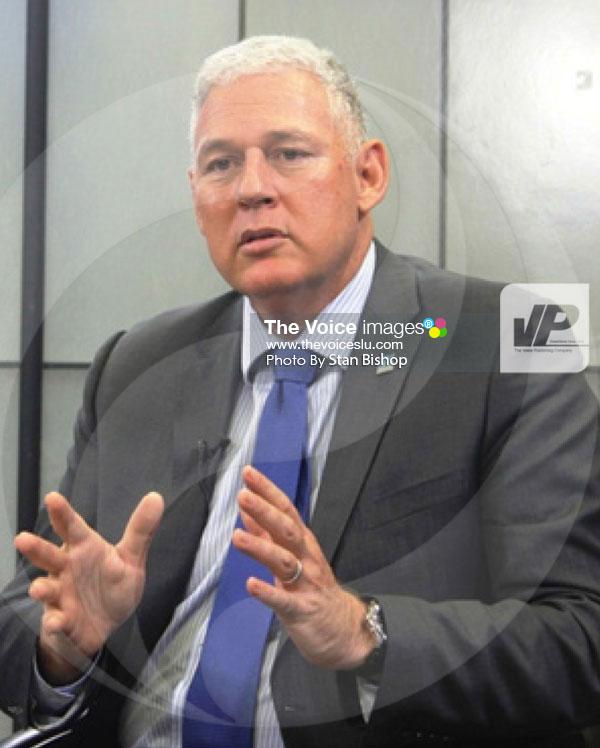 img: Prime Minister Allen Chastanet. [PHOTO: Stan Bishop]
