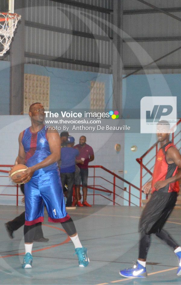 img: Marcian Calderon scored 20 points for Fire Service [PHOTO: Anthony De Beauville]