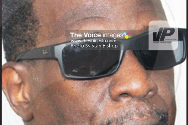 Image: Leader of the Opposition, Phillip J. Pierre. [PHOTO: Stan Bishop]