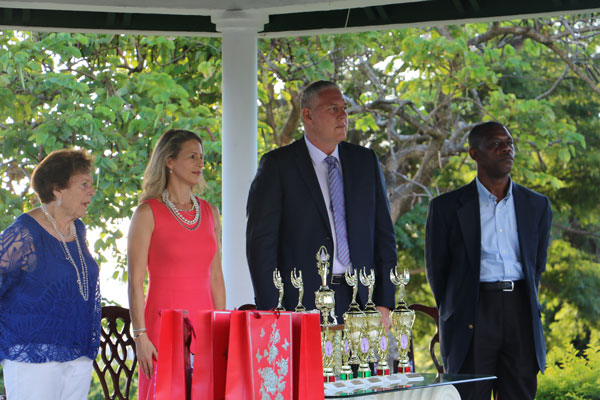 img: Club 60 and HelpAge St. Lucia has expressed gratitude to Prime Minister Allen Chastanet and family for adding a memorable dimension to last weekend's Club 60 Pageant prize-giving ceremony.