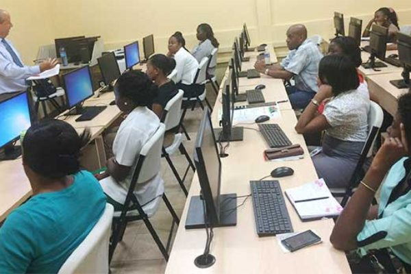 Image: CARCIP Supports ICT Skills Development at T.A. Marryshow Community College in Grenada.