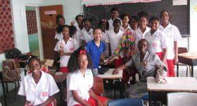 Image: Castries Comprehensive Class.