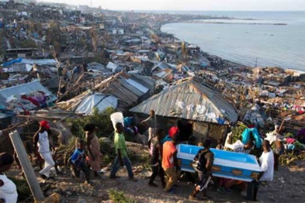 Image: Death and destruction in Haiti.