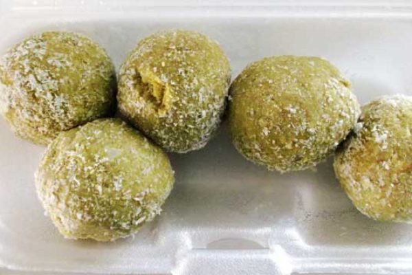 Image of Farine and avocado balls.
