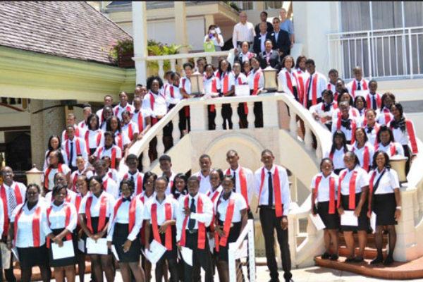 img: Sandals St. Lucia HTP graduation.