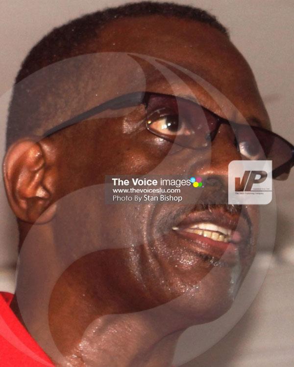 img: Political Leader, Philip J. Pierre. [PHOTO: Stan Bishop]