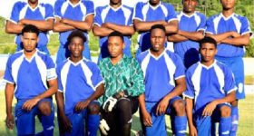 Image: National Under–20 team scored a 4-0 win over La Clery ahead of CFU qualifiers in Curacao.