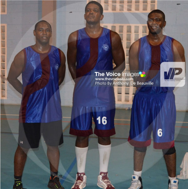 img: Fire Service A1 – (L-R) St.Lucia Fire Service trio Jerry Charles, Desmond Vidal and Owen Cazaubon is expected to make life difficult for BOSL / ECFH                                                                                                                                                                                                         (Photo: Anthony De Beauville)
