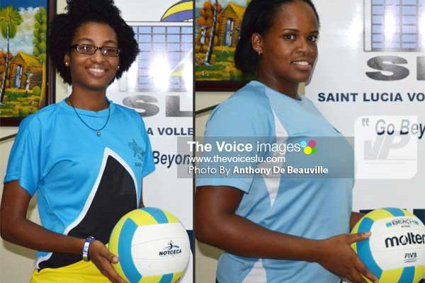 Image: (L-R) Skye Mondesir and Kerin Neptune. (PHOTO: Anthony De Beauville)