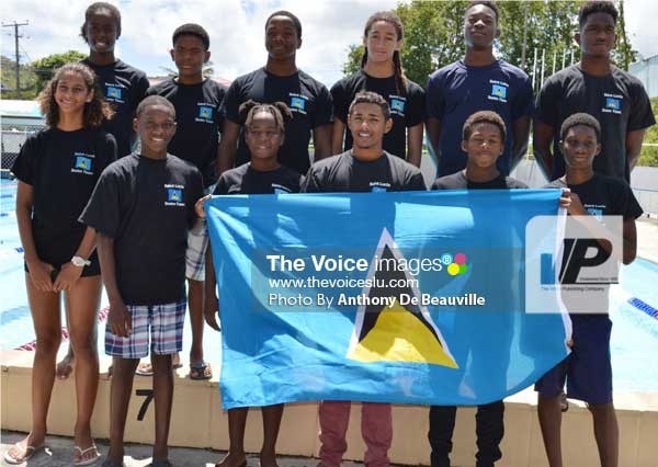 Image: Some of the swimmers seen here will be vying for OECS selection (PHOTO: Anthony De Beauville)