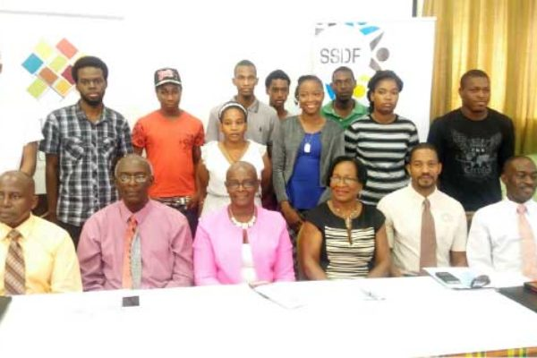 Image: Some of those who attended the launching.
