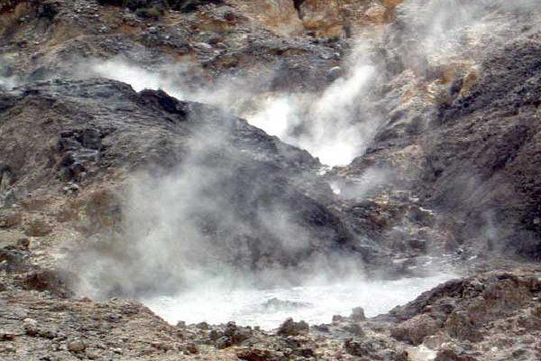 Image: The volcanic Sulphur Springs