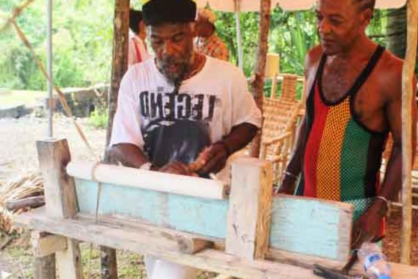Image: Traditions that once dominated St. Lucian life.