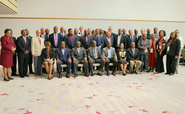 img: Participants in the 12th High Level Forum for Water Minsters in the Caribbean.
