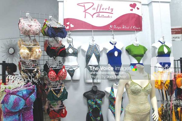 """Image: Rafferty Intimates """"clothes"""" down the fashion show."""