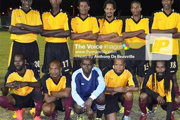Image: Defending champions Soufriere (Photo: Anthony De Beauville)