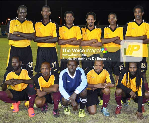 Image: Defending champions Soufriere (Photo: Anthony De Beauville)