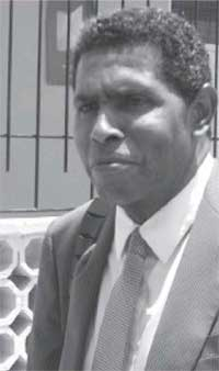 Image of prominent attorney Marcus Foster
