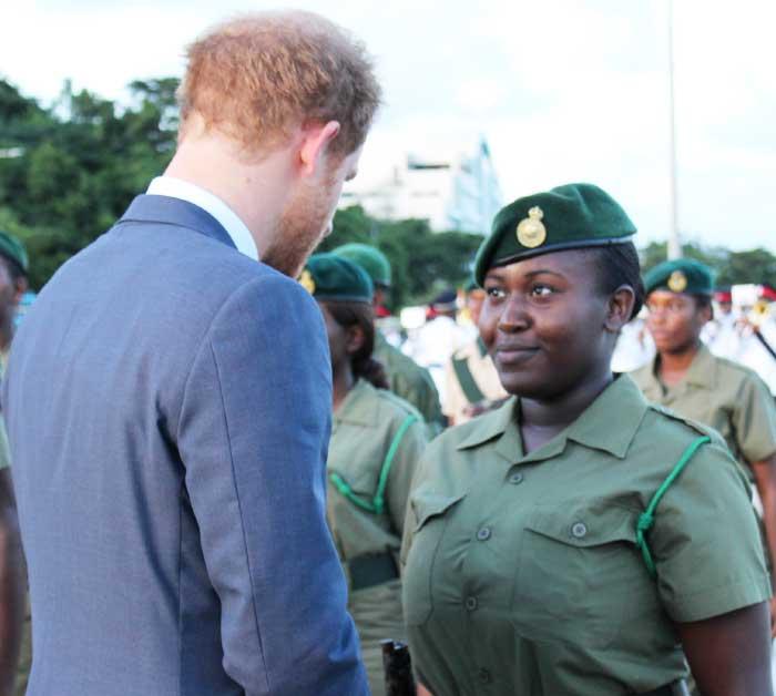 Image: Prince Harry's Brief  Visit