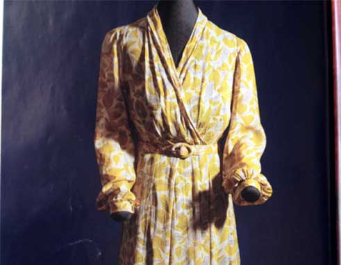 Image: Seamstress Rosa Parks was stitching this dress when she was arrested in 1955 for refusing to give up her seat on a bus to a white passenger. (Photo courtesy: National Geographic)