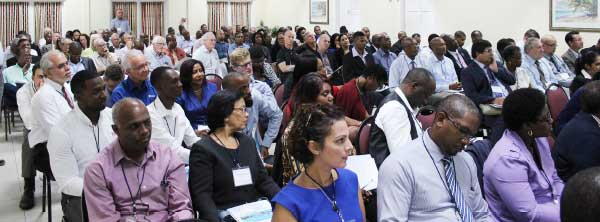 Some of the participants at last week's conference.