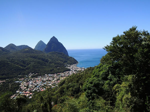 img: Soufriere one of Saint Lucias most visited towns brimming with further tourism potential.