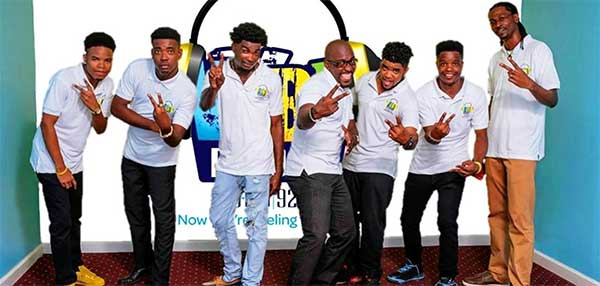 Image of The Vybe Radio team