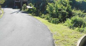 Danger Road at Banse