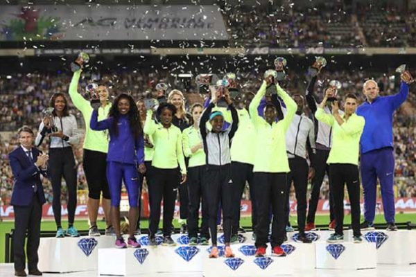 Image: Diamond League winners 2016. (PHOTO: Giancarlo Colombo)