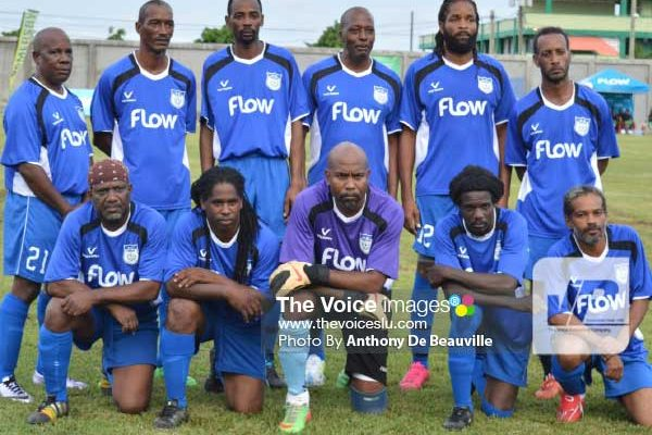 Image: FLOW Lancers FC's first time into the quarterfinal stage of the tournament. (PHOTO: Anthony De Beauville)