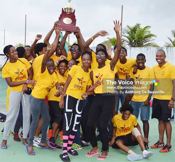Image: Morne Stars 2016 Club Relay Champions. (Photo: Anthony De Beauville)