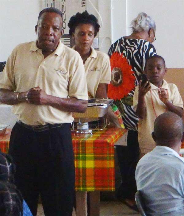 Image: Mr. Francis Hyacinth, addressing the gathering.