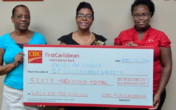 Image: CIBC–FCIB Raise $60,000 for Cancer