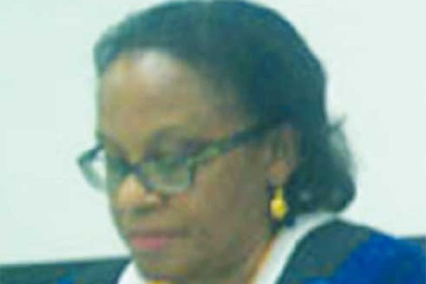 Image of Mayor of Vieux Fort, Orricia Dembow-Bullen