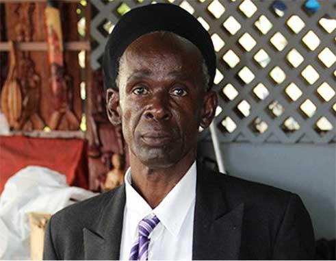 Image of Peter 'Ras Ipa' Isaac.