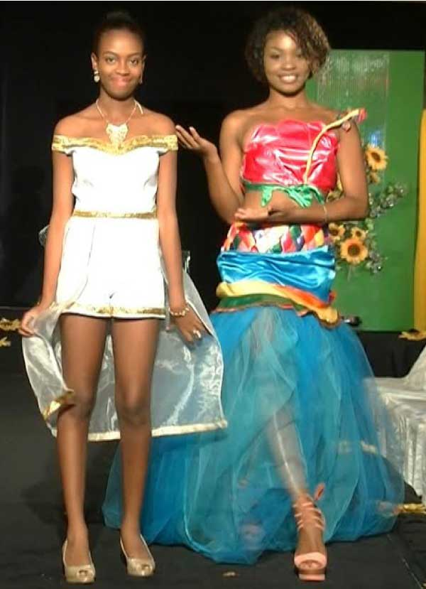 Image of some of the models who took part in the show