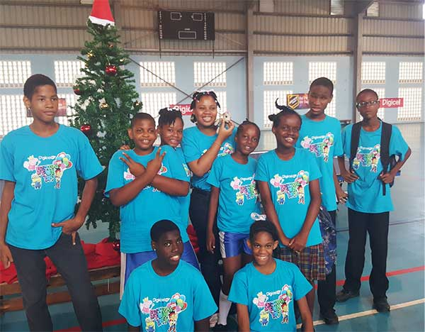Image: Students from Lady Gordon Centre