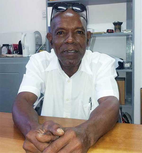 Image: James Joseph, Interim President of the Micoud South Development Foundation