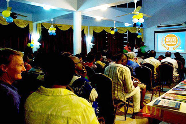 Image: FLASHBACK: Literary Night in Vieux Fort 2016.