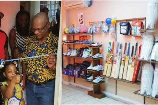 Image: Nake Sports Shop official opening (Photo: NSS)