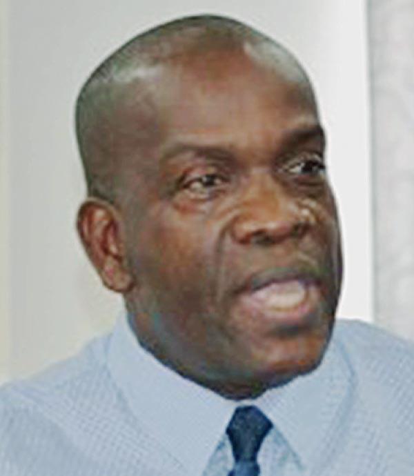 Image: Opposition Leader Lennox Linton