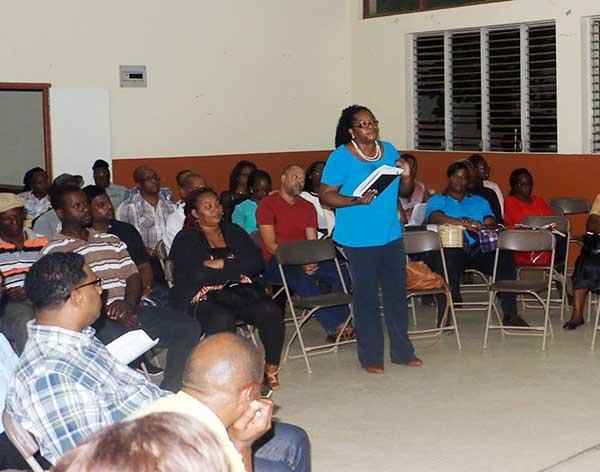Image of participants at Desruisseaux Meeting